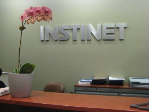 Instinet Brushed aluminum